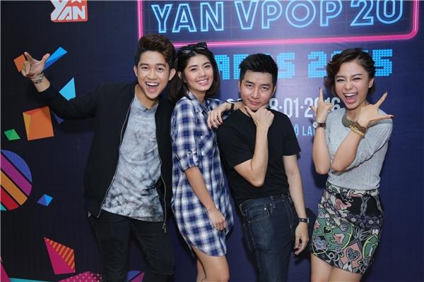 Bộ tứ VJ nổi tiếng của YANTV. - Tin sao Viet - Tin tuc sao Viet - Scandal sao Viet - Tin tuc cua Sao - Tin cua Sao