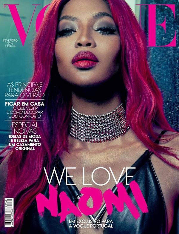 Và gương mặt ảnh bìa xuất hiện trong ống kính của An Lê là một trong những nhân vật khá quen thuộc của làng mốt thế giới - siêu mẫu Naomi Campbell. Đây cũng là một trong những tên tuổi đình đám mà An Lê đã từng có cơ hội làm việc trước đó.