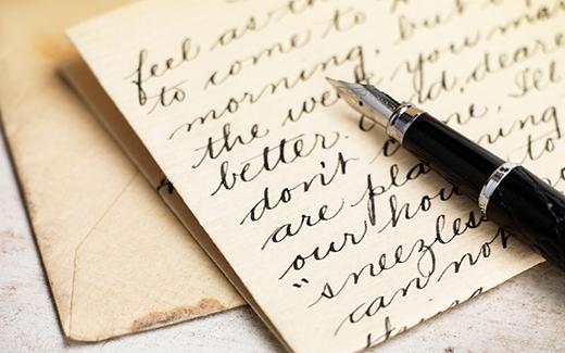 Chữ viết đều với nét thanh đậm rõ ràng luôn khiến người khác thích nhìn.(Ảnh: Internet)