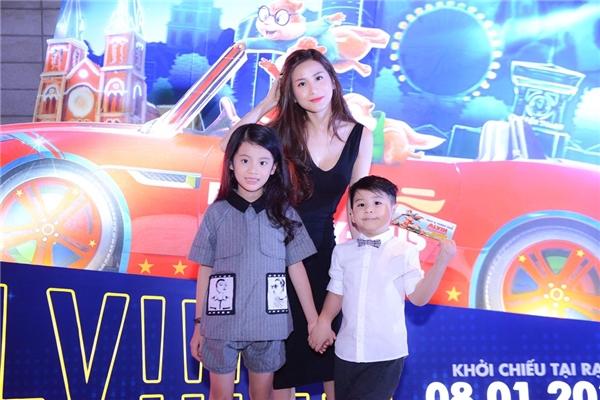 Miss Audition 2006 Ngọc Anh tham gia sự kiện cùng con trai và con gái. - Tin sao Viet - Tin tuc sao Viet - Scandal sao Viet - Tin tuc cua Sao - Tin cua Sao