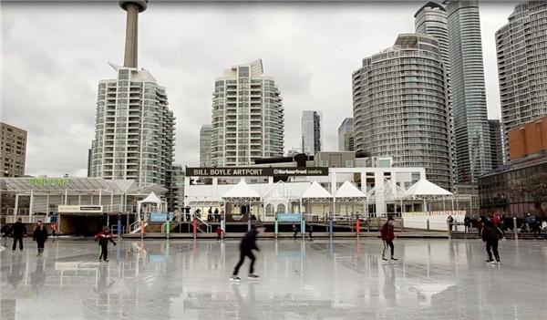 Toronto - thành phố lớn nhất của Canada nằm ở vị trí thứ 7.Ảnh:New York Times