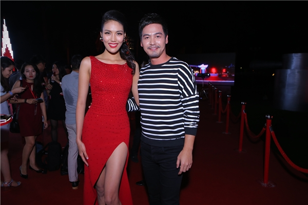 Lan Khuê và MC Phan Anh - Tin sao Viet - Tin tuc sao Viet - Scandal sao Viet - Tin tuc cua Sao - Tin cua Sao