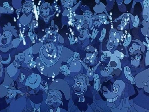 """4. Chuột Mickey đang """"trà trộn"""" vào đây. Bạn có thấy? (Ảnh: Internet)"""