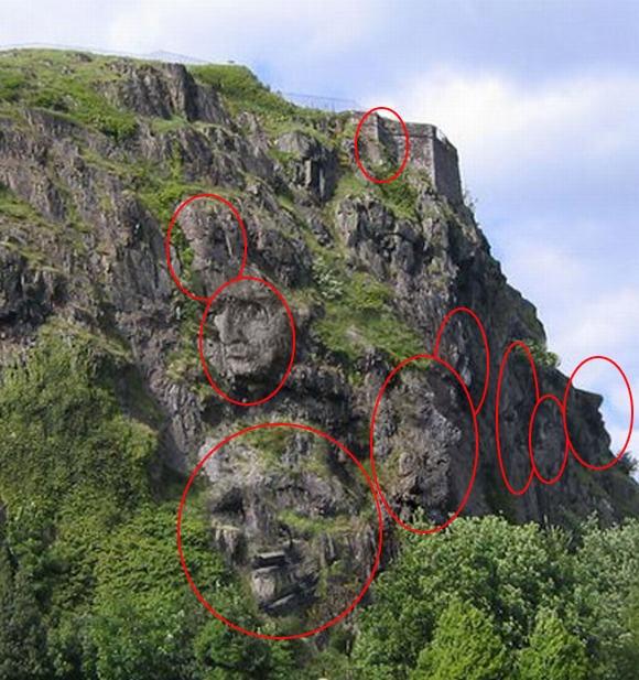 7. Đáp án của chúng tôi là 9 khuôn mặt. Bạn có đáp án khác? (Ảnh: Internet)