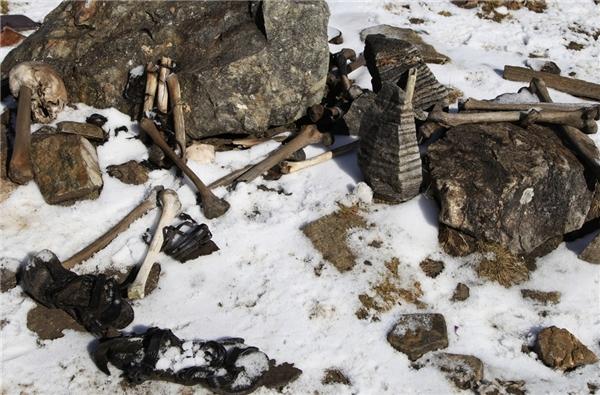 Trải qua hàng nghìn năm nhưng những di vật còn sót lại vẫn chưa bị phân hủy. (Ảnh: Internet)