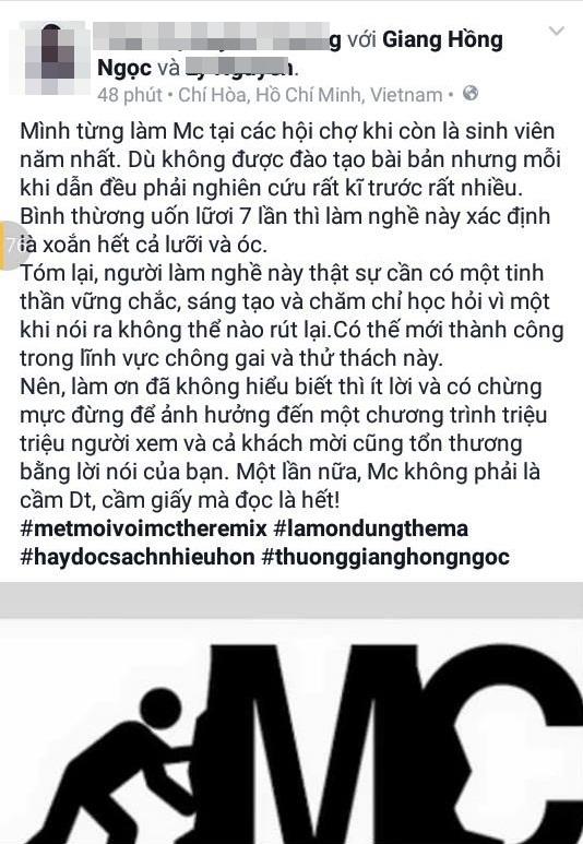 Một người bạn của Giang Hồng Ngọc đã cất công viết một bức tâm thư khá dài để nói lên nỗi lòng của nữ ca sĩ. - Tin sao Viet - Tin tuc sao Viet - Scandal sao Viet - Tin tuc cua Sao - Tin cua Sao
