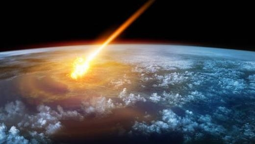 ...và đâm xuống Trái đất là rất cao. (Ảnh minh họa: Internet)