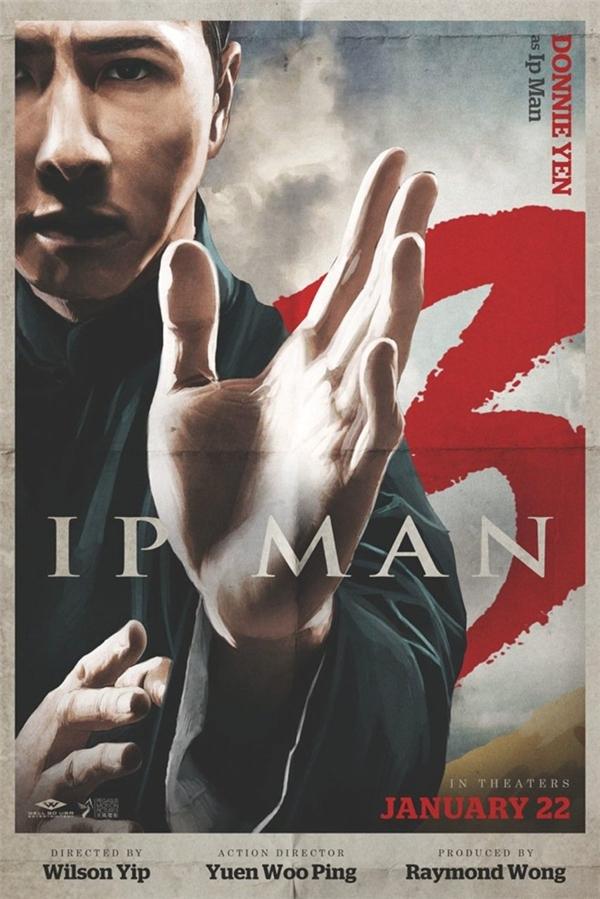 Chân Tử Đan rốt cuộc cũng thực hiệnDiệp Vấn 3sau 5 năm kể từ phần hai. Phim mới ra mắt tại nhiều thị trường châu Á, trong đó có Việt Nam, trước khi đặt chân tới Bắc Mỹ từ 22/1.Ảnh:Pegasus