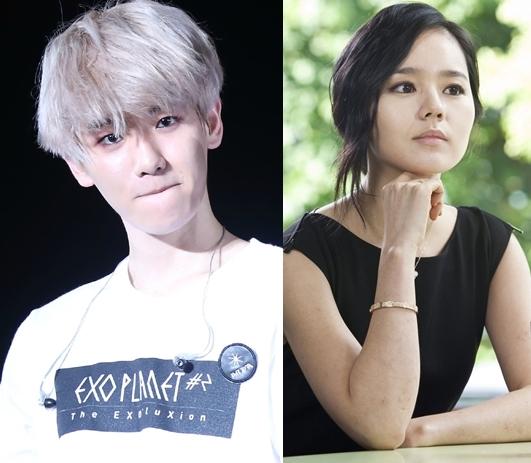 """Được biết đến như một mĩ nam không tì vết của EXO, Baekhyun cũng đặt ra yêu cầu khá cao đối với bạn gái tương lai.Nam thần tượng sẽ """"đổ"""" ngay một cô gái sở hữu làn da trắng mịn, thân hình quyến rũ và toát ra mùi hương đặc biệt. Đối với tiêu chuẩn đã đặt ra, Baekhyun chọn ngay đàn chị Han Ga In làm mẫu bạn gái lí tưởng."""