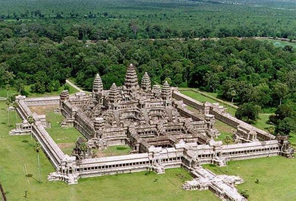 Đền Angkor WatởCampuchia. (Ảnh: Internet)