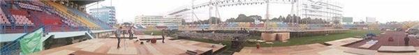 Choáng ngợp trước sân khấu