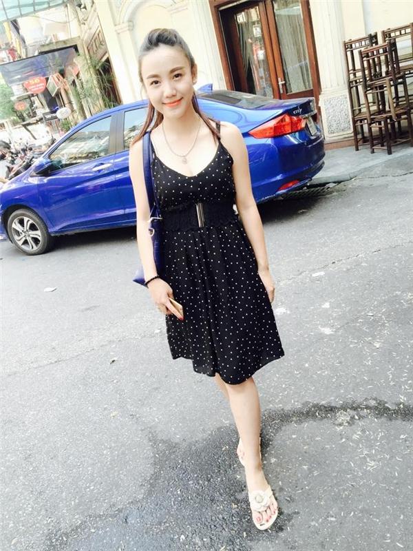 Thân hình nhỏ nhắn đáng yêu của Nguyễn Vũ Ngọc Bích. (Ảnh: Internet)