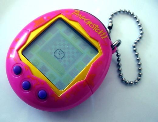 Một cái máy bé xíu nằm gọn trong lòng bàn tay thế này thôi nhưng chứa đựng biết bao kỉ niệm tuổi thơ. (Ảnh: Internet)