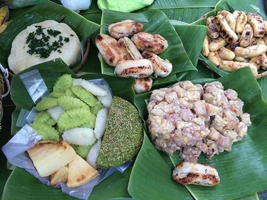 Món ăn dân gian Việt Nam cũng xuất hiện nổi bật.