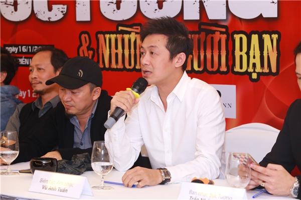 MC Anh Tuấn giữ vai trò biên tập âm nhạc. - Tin sao Viet - Tin tuc sao Viet - Scandal sao Viet - Tin tuc cua Sao - Tin cua Sao