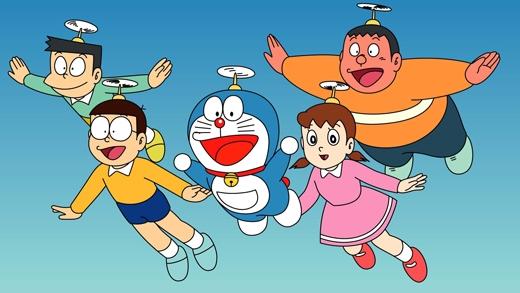 Doraemon:Cũng như Tom và Jerry, Doraemon cũng là một trong những loạtphim hoạt hình dài nhất và hay nhất dành cho thiếu nhi từ trước đến nay. Đây là bộ phim yêu thíchcủa biết bao nhiêu thế hệ trẻ con tại Việt Nam. (Ảnh: Internet)