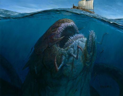 Liệu chăng dưới đáy biển sâu... (Ảnh: Internet)