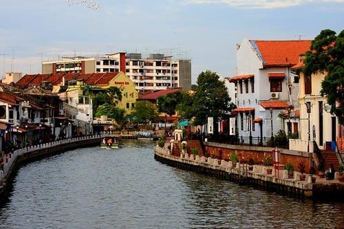 """""""Venice của châu Á"""" mang vẻ đẹp dịu dàng, yên ả.(Ảnh: Internet)"""