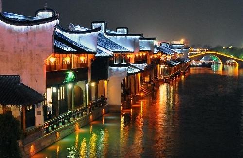 Kiến trúc của phố Yuehe vẫn giữ được nét riêng từ thời xa xưa.(Ảnh: Internet)