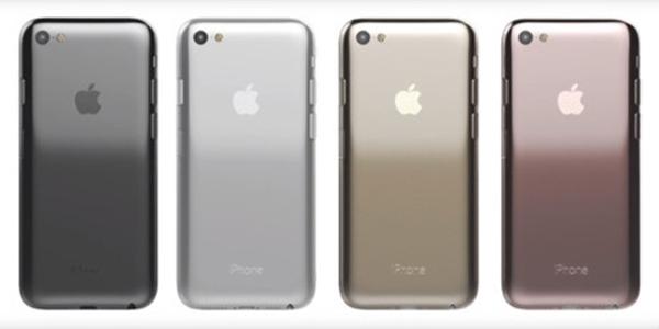 Mặt lưng của concept Iphone 7 này gần với thiết kế của Iphone 3GS. (Ảnh: Internet)