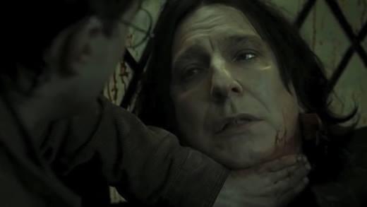 Điểm lại những khoảnh khắc đáng nhớ của giáo sư Snape
