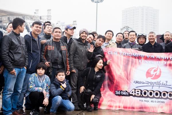 CLB Triumph đã góp 48 triệu đồng ủng hộ cho Trần Lập. - Tin sao Viet - Tin tuc sao Viet - Scandal sao Viet - Tin tuc cua Sao - Tin cua Sao
