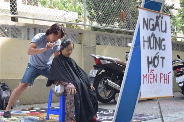 Cảm phục hành động đẹp của chàng Việt kiều