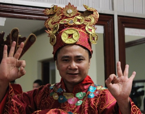 Tự Long đã gắn bó với chương trình Táo Quân suốt 11 năm qua và là bạn diễn ăn ý của Xuân Bắc - Công Lý - Quốc Khánh... Ảnh: VFC - Tin sao Viet - Tin tuc sao Viet - Scandal sao Viet - Tin tuc cua Sao - Tin cua Sao
