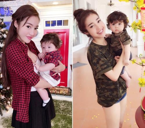 Những hình ảnh đáng yêu của hai mẹ con nhận được rất nhiều lời khen ngợi từ cộng đồng mạng - Tin sao Viet - Tin tuc sao Viet - Scandal sao Viet - Tin tuc cua Sao - Tin cua Sao