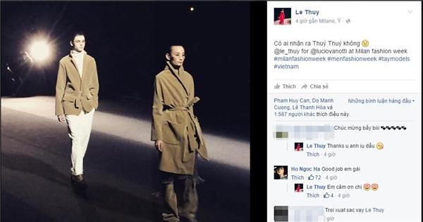 Vừa sang Milan, Lê Thúy - Trang Khiếu đã trúng show