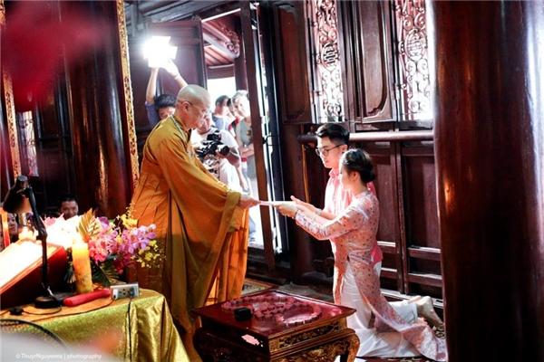 Lễ Hằng Thuận của Ứng Kiên - Mạc Huyềnvào cuối tháng 7/2015. (Ảnh: Internet)