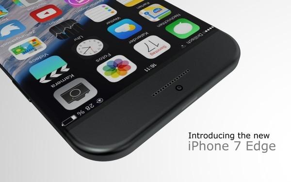 Bản thiết kế Iphone 7 Edge củaHasan Kaymark vẫn giữ được nhiều nét đẹp cổ điển của Iphone. (Ảnh: Internet)