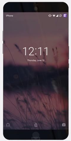 Chiếc iPhone 7 này có phần viền màn hình mỏng tới mức... đáng ngưỡng mộ. Ngoài ra cũng có thể thấy phần viền dưới của máy cũng được tiết chế hơn với nút Home nhỏ hơn thường lệ. (Ảnh: Internet)