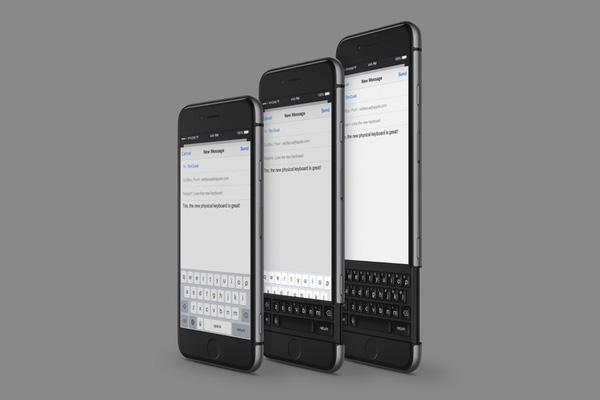 Iphone 7 với bàn phím cứng vô cùng độc đáo. (Ảnh: Internet)