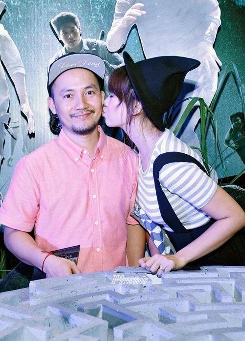 Hari Won không ngần ngại bày tỏ tình cảm với bạn trai khi xuất hiện trước công chúng. - Tin sao Viet - Tin tuc sao Viet - Scandal sao Viet - Tin tuc cua Sao - Tin cua Sao