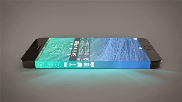 Iphone 7 có cạnh bên cảm ứng. (Ảnh: Internet)