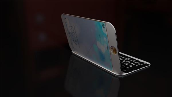 Iphone 7 Pro có bàn phím Qwerty. (Ảnh: Internet)