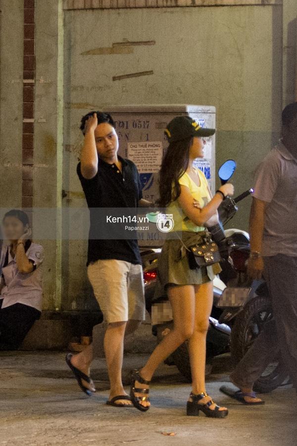 Midu bị bắt gặp hẹn hò với Phan Thành vào cuối tuần qua. (ảnh: Trí Thức Trẻ) - Tin sao Viet - Tin tuc sao Viet - Scandal sao Viet - Tin tuc cua Sao - Tin cua Sao