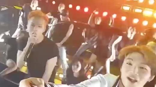 G-Dragon khoe tài uốn dẻo không thua kém thành viên nhóm nhạc nữ