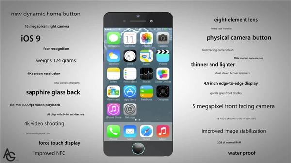 Các tính năng vượt trội của Iphone 7 được AG liệt kê. (Ảnh: Internet)