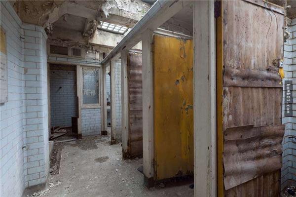 Khu này bị bỏ hoang trong rất nhiều năm. (Ảnh: Internet)