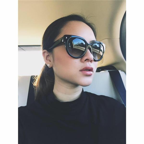 Pam Nguyen đãtừng cộng tác với nhiều tạp chí nên diễn xuất của cô trước ống kính khá tốt.(Ảnh Facebook)