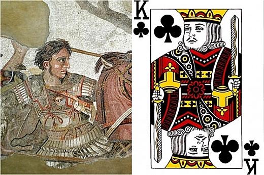 Quân già chuồn đại diện cho hình ảnh của Alexander Đại Đế (356-323TCN). (Ảnh: Internet)