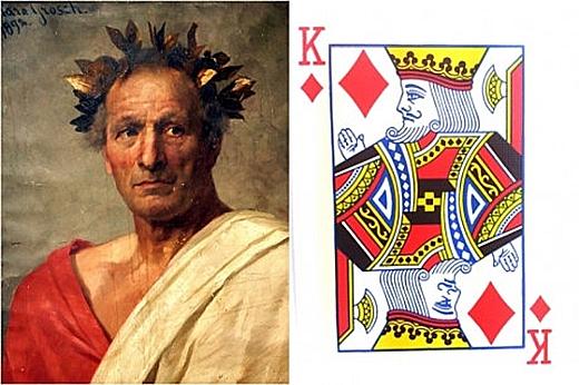 Lãnh tụ quân sự, chính trị của La Mã Gaius Julius Caesar (100-44TCN) là hình ảnh đại diện của quân già rô. (Ảnh: Internet)