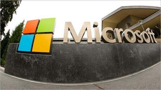 Hình ảnh bên ngoài trụ sở Microsoft.(Ảnh: Internet)