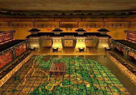 Ngoài cung điện, lăng mộ Tần Thủy Hoàng cũng là bí ẩn lớn. (Ảnh: Internet)