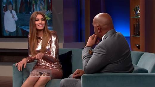 Hoa hậu Columbia nói gì khi gặp lại MC tai tiếng tại HHHV?