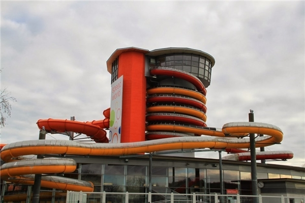 Đường trượt Twister and Speedy – Sonnentherme Lutzmannsburg Thermal Spa, Áo