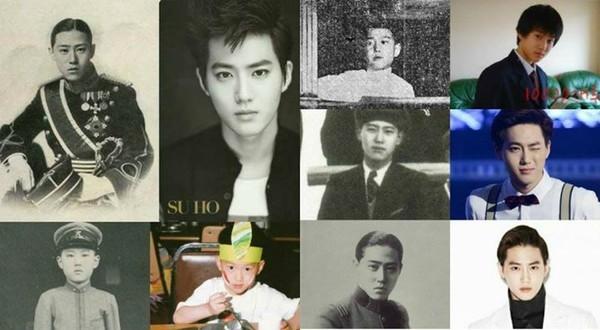 Anh chàng Suho - trưởng nhóm EXO, được cho là giống y hệt hoàng tử Yi Wu, vị hoàng tử cuối cùng của Hàn Quốc. (Ảnh: Internet)