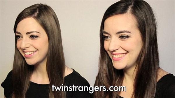 """Niamh (trái) và """"bản sao thứ 2""""của mình Luisa Guizzardi (phải). Hai cô nàng cũng vô cùng ngạc nhiên trước sự giống nhau đến bất ngờ của mình.(Ảnh: Internet)"""